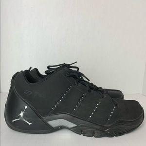 Air Jordan Jeter Black Basketball Shoes Size 10.5